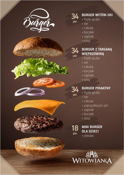 witowianka menu burger